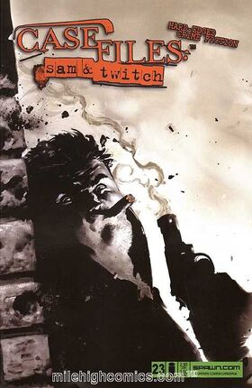 Cover for Case Files: Sam and Twitch #23 (2006)