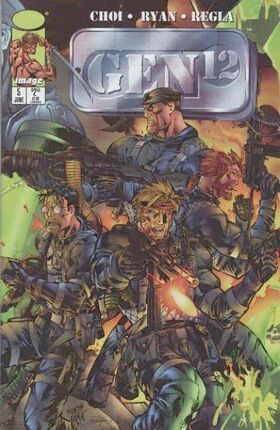 Cover for Gen12 #5 (1998)