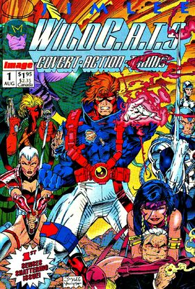 Cover for WildC.A.T.s: Covert Action Teams #1 (1992)