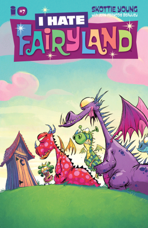 Cover for I Hate Fairyland #2 (2016)