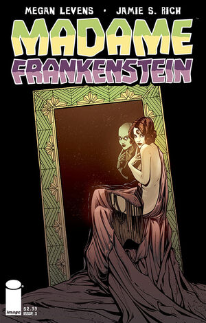 Cover for Madame Frankenstein #3 (2014)