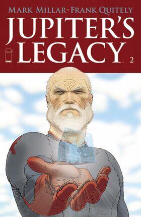 Cover for Jupiter's Legacy #2 (2013)