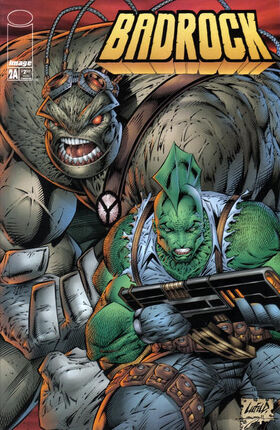 Cover for Badrock #2 (1996)