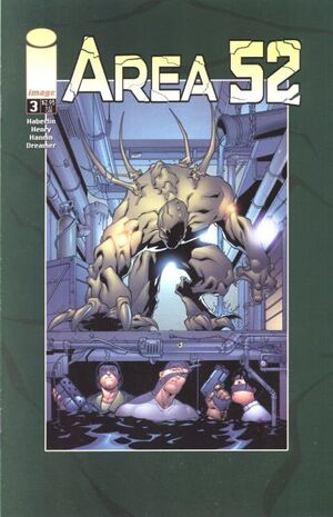 Cover for Area 52 #3 (2001)