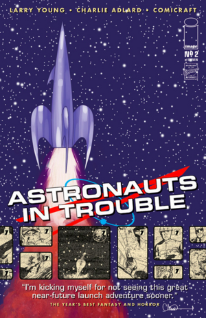 Cover for Astronauts in Trouble #2 (2015)