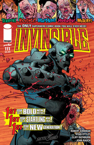 Cover for Invincible #111 (2014)