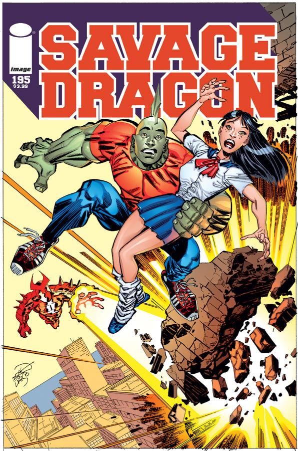 Savage Dragon Vol 1 195