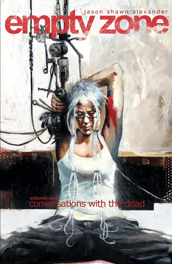 Empty Zone TPB Vol 1 Conversations with the Dead (Collected)
