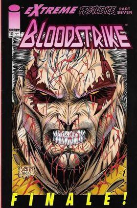 Cover for Bloodstrike #10 (1994)
