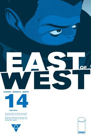Cover for East of West #14 (2014)