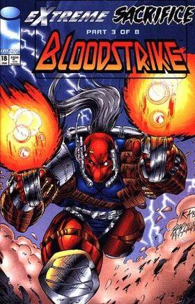Cover for Bloodstrike #18 (1995)