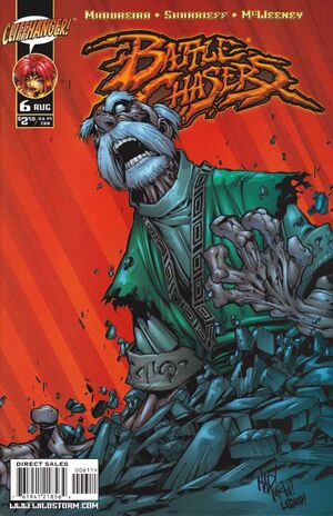 Cover for Battle Chasers #6 (1999)
