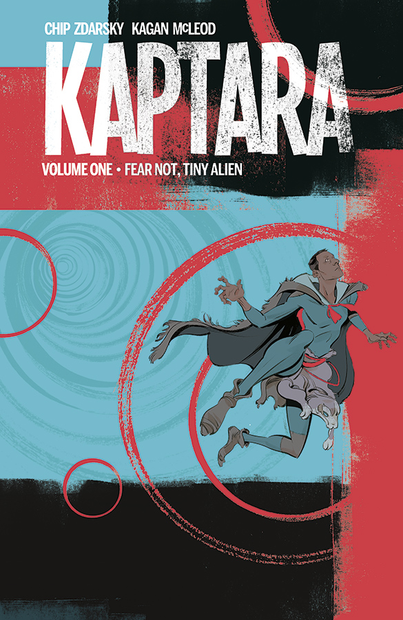 Kaptara TPB Vol 1 Fear Not Tiny Alien (Collected)