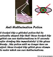 Anti Hallucination Potion