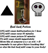 Bad Luck Potion