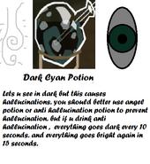 Dark Cyan Potion
