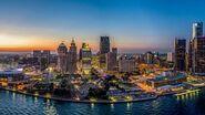 Detroit-aerial-view
