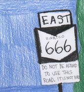 Eastbound - Zinrico Hwy 666