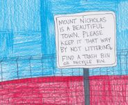 Mount Nicholas is beautiful