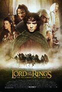 The Lord of the Rings - The Fellowship of the Ring (2001) Poster