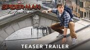 Spider-Man Far From Home Official Teaser Trailer Experience it in IMAX®
