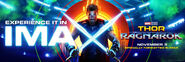 Thor Ragnarok IMAX Banner