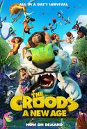 The Croods - A New Age (2020) Poster