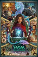 Raya and the Last Dragon (2021) Poster
