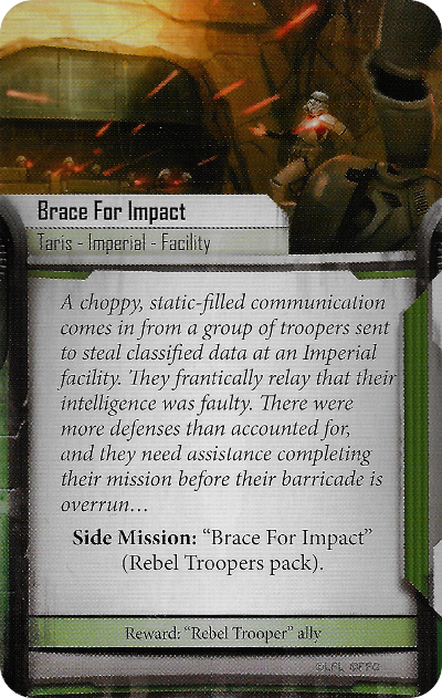 Brace for Impact (Side Mission)