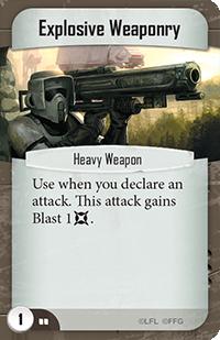Explosive Weaponry
