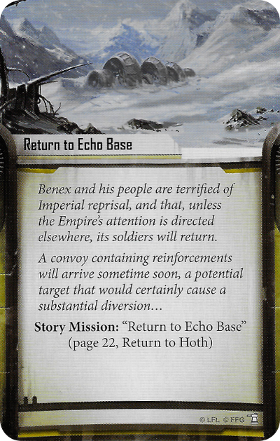 Return to Echo Base