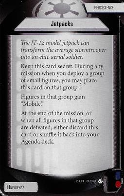 Jetpacks (Agenda Card)