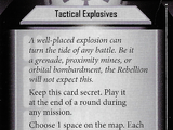 Tactical Explosives