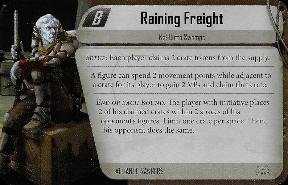 Raining Freight