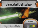 Shrouded Lightsaber
