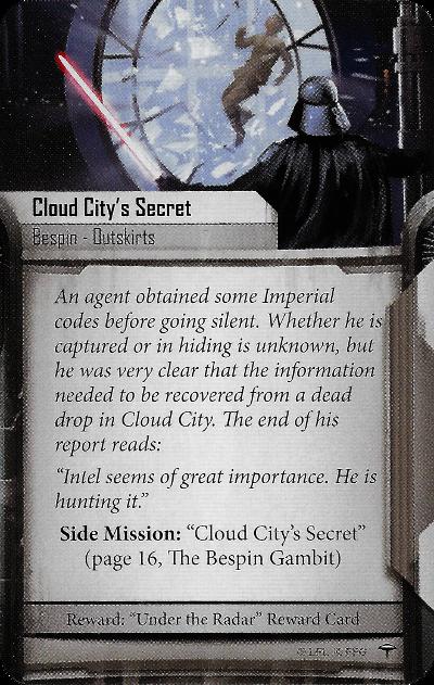 Cloud City's Secret