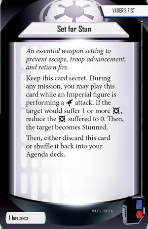 Set for Stun (Agenda Card)