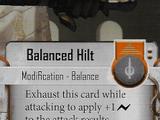 Balanced Hilt