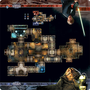 Jabba's Palace Skirmish Map