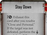 Stay Down (Biv)