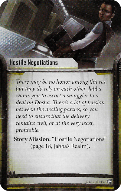 Hostile Negotiations