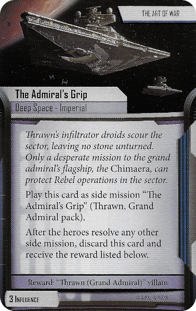 The Admiral's Grip