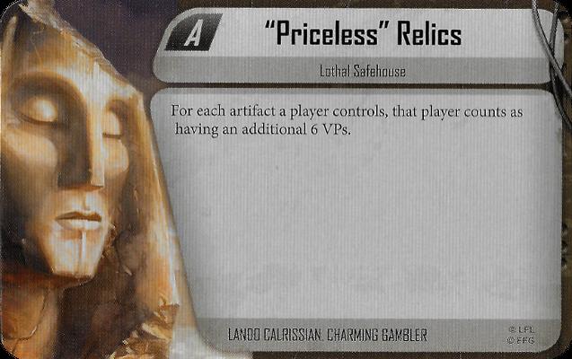 """""""Priceless"""" Relics"""