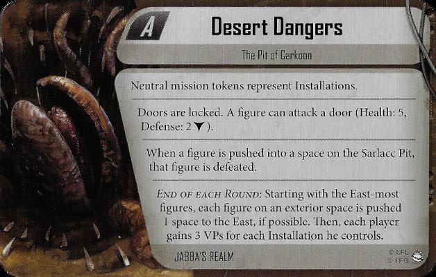 Desert Dangers