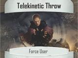 Telekinetic Throw