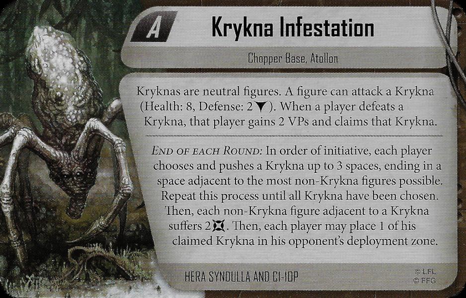 Krykna Infestation
