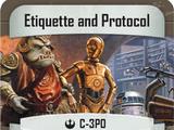 Etiquette and Protocol
