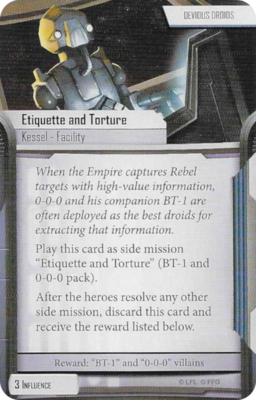 Etiquette and Torture