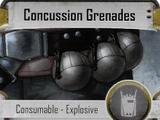 Concussion Grenades