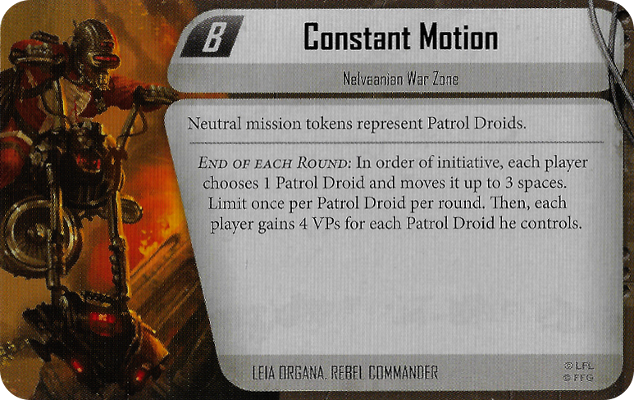 Constant Motion
